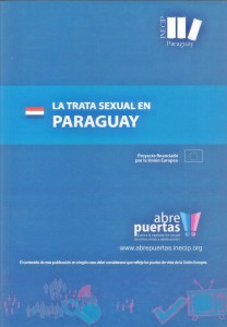 Tapa - Libro - La Trata Sexual en Paraguay (Custom)