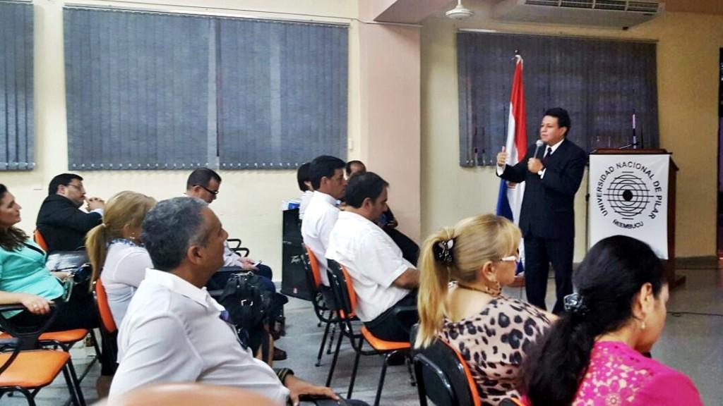 """""""Los Desafíos de la Acreditación en Paraguay"""" por el Dr. Raúl Aguilera"""