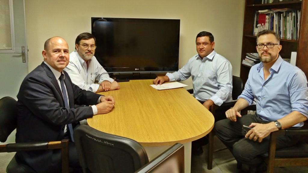 Reunión y Firma de Convenio entre la UNP y la CONACYT
