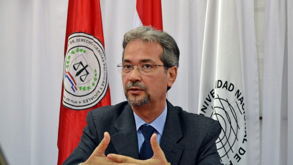 Prof. Dr. Sergio Cuaresma Terán visita la UNP (1)