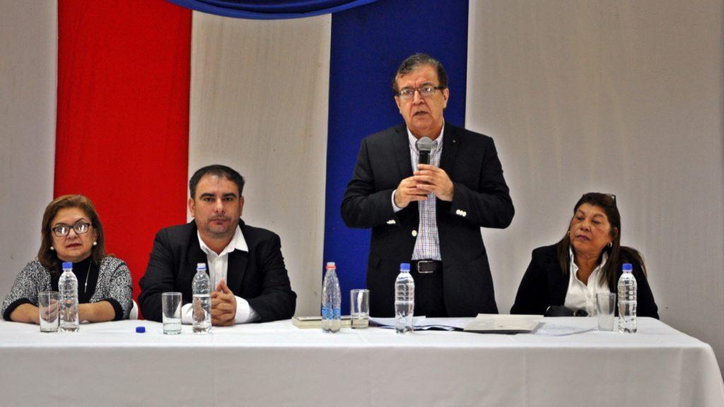 Visita del Dr. Nicanor Duarte Frutos