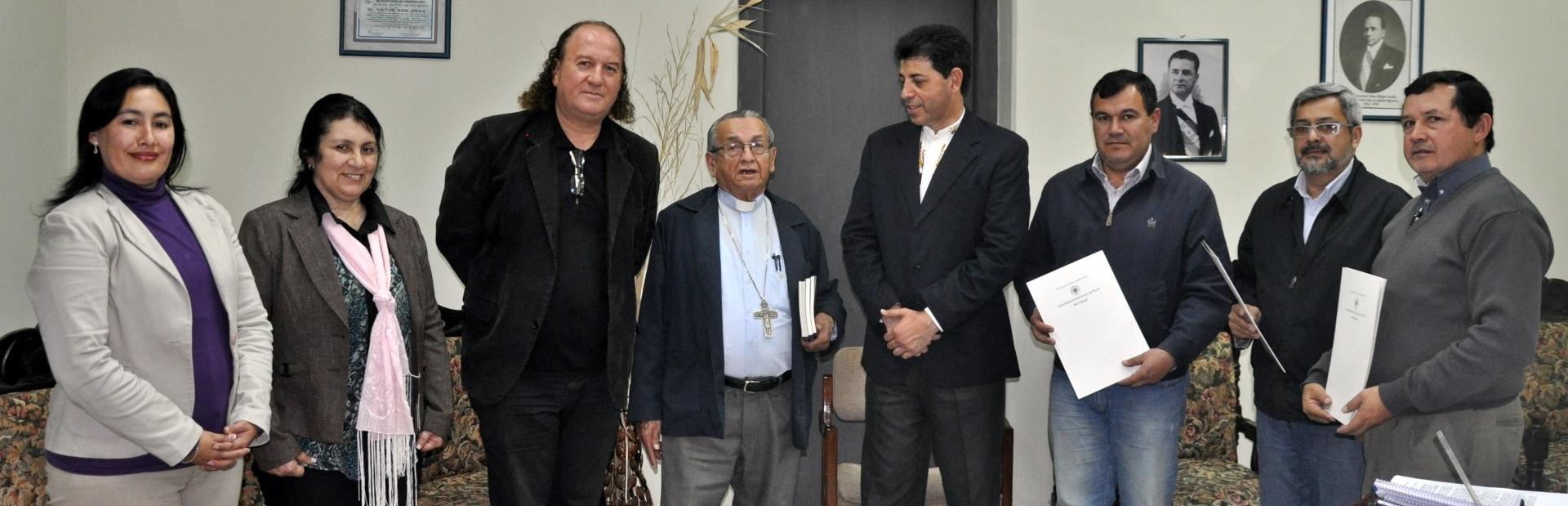 Firma de Convenio Marco entre la UNP y la Diócesis de San Juan Bautista Misiones DESTACADO