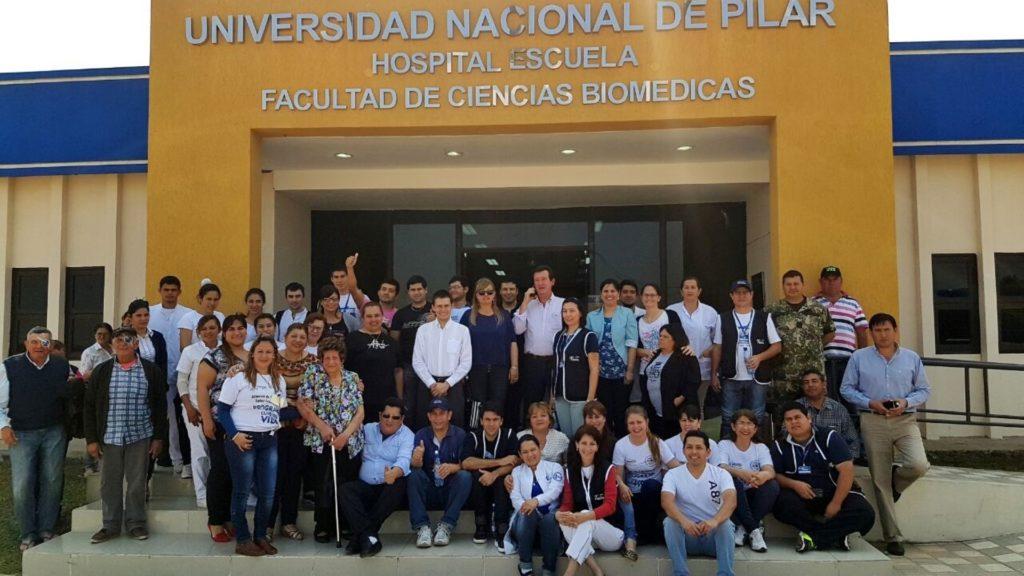Jornada Oftalmológica en el Hospital Escuela de la UNP